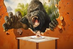 Spectacular 3d Paintings At The Magic Art Special