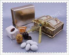 Dualı Lüx Mevlüt Şekeri Place Cards, Place Card Holders