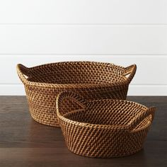 Handcrafted of 100% rattan, the Artesia serving collection is woven in a pattern known as hapao. Originating in a remote village in northern Luzon, the largest island in the Philippines,  hapao is a traditional pattern used for bags and baskets. Over time, the colors used and shapes formed changed, though always emphasizing the durability and natural beauty of this amazing fiber. Each piece in the Artesia collection is finished in beautiful honey brown, calling out the texture and intricacy…