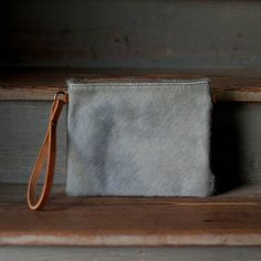 Modernist Wallet | Glacier Hair Hide