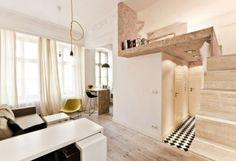 3 очень маленькие квартиры площадью 22 кв.м :: Nash Homer - design your life