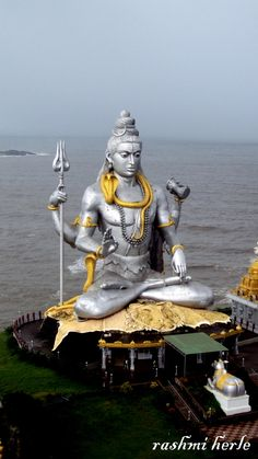 """World's second tallest statue of Lord Shiva,Murudeshwara"" by Rashmi Herle, via 500px."