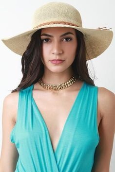This summer hat is floppy hat silhouette with a straw design. Features a decor braided bow tie string. Finished with an interior ribbon lining. Jumpsuits For Women, Blouses For Women, Cotton Polyester Fabric, Beach Casual, Short Wigs, Short Jumpsuit, Short Mini Dress, Crochet Blouse, Hats For Women