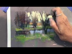 Foxboro Art Association - Pastel Demo with artist Barbara Stone - YouTube