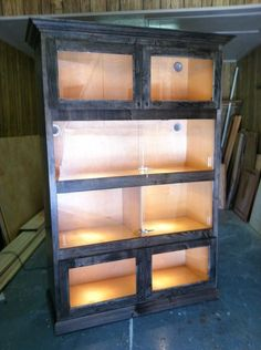 DIY Reptile Cage Plans | ... detailed plans on building ...