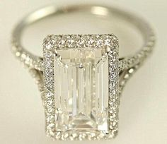 !!!  GIA certified  5 carat  Emerald Cut Diamond by BeautifulPetra, $100000.00