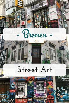 Bremen besticht mich seiner Vielseitigkeit. Kennst du schon das Viertel, welches voll mit Cafés und Restaurants ist und eine Menge Street Art und alternativer Szene bietet?