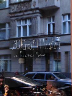 Minimal hostel Berlin