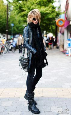 Visual kei and japanese male fashion; I think this is Sebastiano Serafini :)