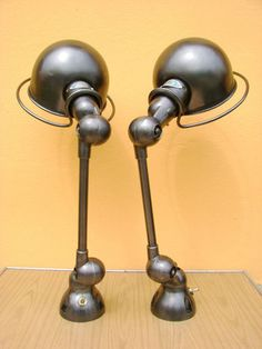 Pair of Wall Lamp Apply Sconce Jielde Light Design French Industrial Loft France | eBay