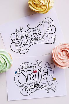 FREE | It's Always Spring with Buttercream Art Print