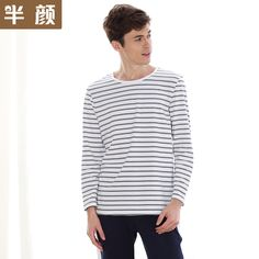 1d94a2a386 Cheap mens pajama sets, Buy Quality mens pyjama sets directly from China  pajama sets men Suppliers: 2017 Hot Simple knitted cotton couples pajamas  sets men ...