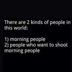Which one are you? ☀️ #goodmorning #riseandshine
