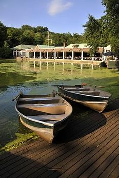 """Boathouse Restaurant Central Park. """"Twenty years from now you will be more disappointed by the things you didn't do than by the ones you did do. So throw off the bowlines, sail away from the safe harbor. Catch the trade winds in your sails. Explore. Dream. Discover.""""   Mark Twain"""