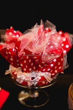 Trouxinhas Festa Minnie Vermelha da Maria Clara
