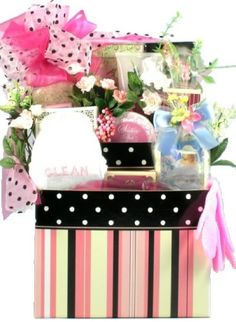 Pampering Spa Gourmet for Her Womens Birthday Holiday or Mothers Day Gift Basket Idea ** To view further for this item, visit the image link.