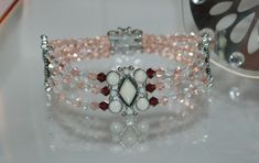 3 tier Crystal Bracelet