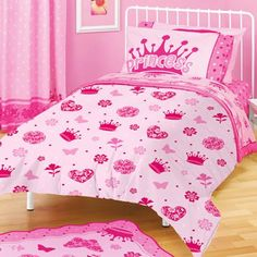 "American Kids Princess 63"" x 90"" Plush Blanket"