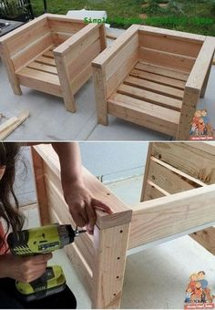 15 Adorable Gardening Furniture Projects with Wood, diy furniture redo,