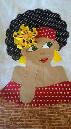 handmade unique design style by Araya Felt Crafts, Diy And Crafts, Arts And Crafts, Sewing Crafts, Sewing Projects, Chicken Quilt, Paint And Sip, Applique Quilts, Ribbon Embroidery