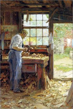 The Village Carpenter: The Classic Memoir of the Life of a Victorian Craftsman : Walter Rose, Frank Kendon : 9781610350518 Used Woodworking Machinery, Woodworking Logo, Woodworking Books, Woodworking Projects, Green Woodworking, Woodworking Videos, Old Tools, Old Pictures, Woodworking