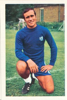 Ron Harris - Chelsea - as a player.