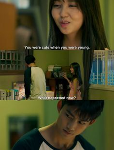 I say this to my little brother all the time lol | Let's Fight Ghosts #korean #drama