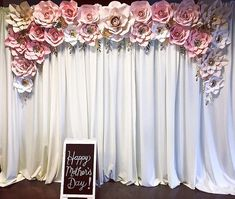 Happy Mother's Day! Thank you for the opportunity to work on this backdrop for both Impact Church and Resurrection Church! I hope the… Mother's Day Background, Happy Mother S Day, Gold Ink, Birthday Decorations, Opportunity, Mothers, Backdrops, Invitations, Instagram