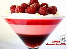 Трехслойное Желе-Десерт