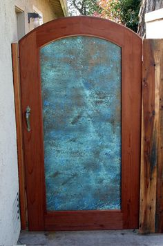 Copper Patina Gate III - by newTim @ LumberJocks.com ~ woodworking community
