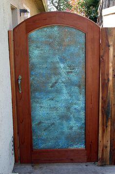 Copper Patina Gate III - by newTim @ LumberJocks.com ~ woodworking community