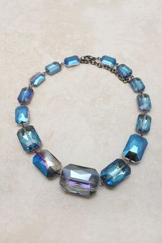 Midnight Andrina Statement Necklace   Emma Stine Jewelry Necklaces