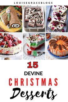 Christmas Ice Cream Cake, Best Christmas Desserts, Christmas Dinners, Christmas Foods, Holiday Cakes, Holiday Foods, Christmas Baking, Family Christmas, Christmas Cookies