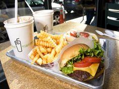 Shake Shack's ShackBurger, Milkshake and Fries