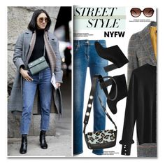 """NYFW: Street Style"" by paculi ❤ liked on Polyvore featuring Topshop, Lanvin, contestentry and nyfwstreetstyle"