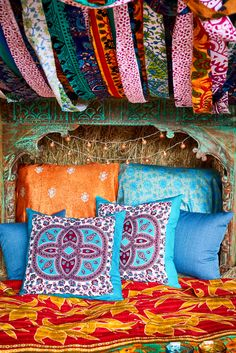 Dreamy. #nightworld #bedding #blanket #pillows #tapestry #earthboundtrading