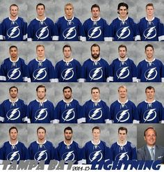 Tampa Bay Lightning. Jo why are you so depressed lol ahaha