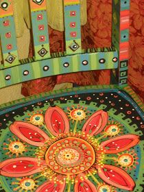 Painting It: Painted Chairs A prolific designer whose painted works are worth checking out.
