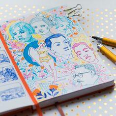 Where's my pencil ? — A few sketchbook doodles ! Pretty Art, Cute Art, Sketchbook Inspiration, Sketchbook Ideas, Illustrations, Illustration Art, Posca Art, Art Diary, Artist Sketchbook