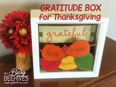 DIY Gratitude Box for Thanksgiving