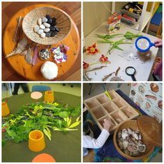 let the children play: Be Reggio Inspired: Learning Experiences Reggio Emilia, Play Based Learning, Early Learning, Preschool At Home, Preschool Ideas, Teaching Ideas, Preschool Literacy, Kindergarten, Natural Play Spaces