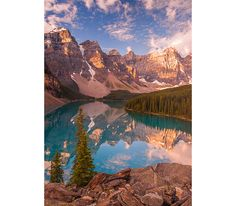Mountain Photograph, Moraine Lake