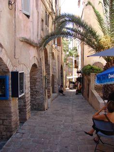 Les rues de Bonifacio, Corse