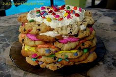 Chocolate Chip Cookie Ice Box Cake-- Looking for something to INDULDGE with POST CONTEST! LOL   I thnk this is too much!