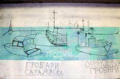 More žice / Prokop #BeogradskiGrafiti #StreetArt #Graffiti #Beograd #Belgrade #Grafiti