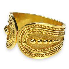 Split Faced Granulated Ring
