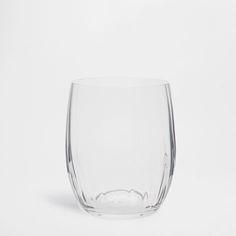 Optical Honeycomb Water Glass - Glassware - Tableware   Zara Home Sweden