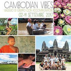 Ecco le date del nostro prossimo gruppo in Cambogia con accompagnatore dall'Italia e guida locale! Non vediamo l'ora di condividere con voi gli scenari irripetibili e le emozioni infinite di questo viaggio indimenticabile  Per info visitate il link in bio :) #cambogia #viaggiodigruppo #estate2017 #sudestasitico #cambogiaviaggi #travelways #turismoresponsabile #turismosostenibile #travelgram #wanderlust #incontroautentico http://ift.tt/2pNgeBl