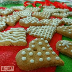 głodny alergik :): Pierniczki dla alergika (bez glutenu, mleka i jaj)