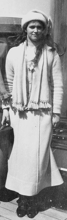 Grand Duchess Maria Nikolaevna (1899 – 1918) of Russia. #Romanov
